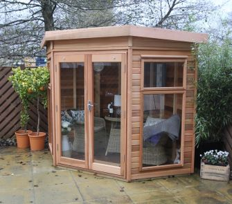 Alton Cedar Summerhouse -  FAIRFORD