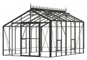 Robinsons Aluminium Greenhouse REDOUBTABLE