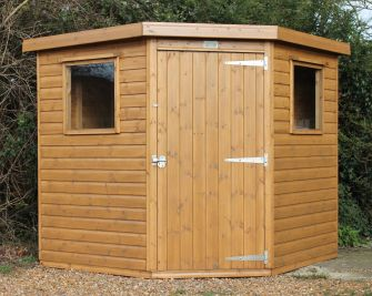 Royston Corner Shed 7ft x 7ft (2.1m x 2.1m)