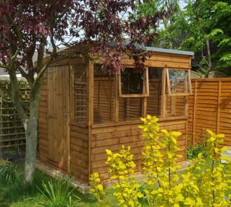 Saffron Potting Shed 8ft x 6ft (2.4m x 1.8m)